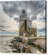 At The End Of The Earth Acrylic Print