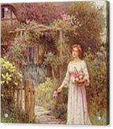 At The Garden Gate Acrylic Print