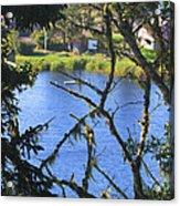 At The Oregon Coast Acrylic Print
