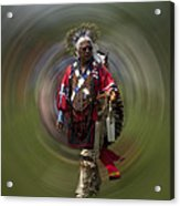 At The Powwow Sault Ste Marie Michigan Acrylic Print