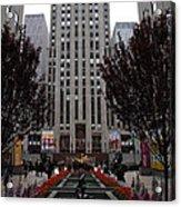 At The Rockefeller Center Acrylic Print