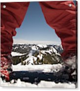 At The Top Of The Mountain Acrylic Print