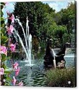 At The Zoo Acrylic Print