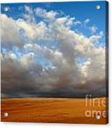 Clouds Over The Atacama Desert Chile Acrylic Print