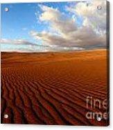 Atacama Desert Wilderness Acrylic Print