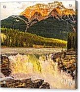 Athabasca Fall Acrylic Print