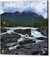 Athabasca Falls #3 Acrylic Print