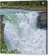 Athabasca Falls Study V Close-up Acrylic Print