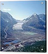 1m3735-athabasca Glacier Acrylic Print