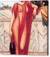 Athenais Acrylic Print