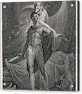 Athena/minerva Advises  Diomedes - Who Acrylic Print