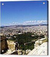 Athens View From Acropol Acrylic Print