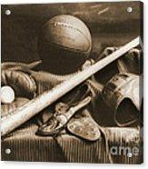 Athletic Equipment 1940 Acrylic Print