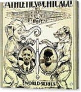 Athletics Vs Chicago 1929 World Series Acrylic Print