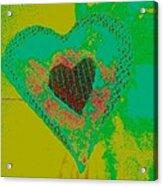Athlone Heart Acrylic Print by Dorothy Rafferty