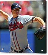 Atlanta Braves V St. Louis Cardinals Acrylic Print