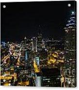 Atlanta City Lights Acrylic Print