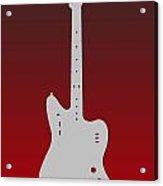 Atlanta Falcons Guitar Acrylic Print
