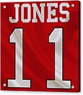 Atlanta Falcons Julio Jones Acrylic Print