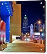 Atlanta Outside Cnn Acrylic Print