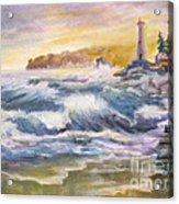Atlantic Agitation Acrylic Print