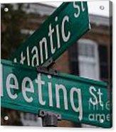 Atlantic And Meeting St Acrylic Print