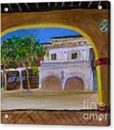 Atlantic Ave From The Shade Of Hands Acrylic Print
