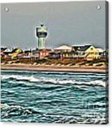 Atlantic Beach Acrylic Print
