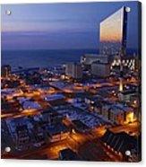 Atlantic City At Dawn Acrylic Print