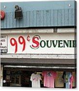 Atlantic City New Jersey - Souvenir Store Acrylic Print