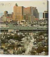 Atlantic City Acrylic Print