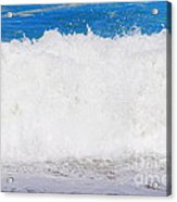 Atlantic Ocean Wave Acrylic Print