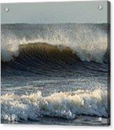 Atlantic Ocean Wave Acrylic Print