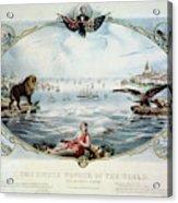 Atlantic Telegraph Cable Acrylic Print