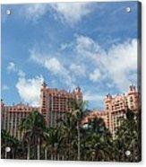 Atlantis Resort At Paradise Island Acrylic Print