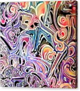Atom Smasher Acrylic Print