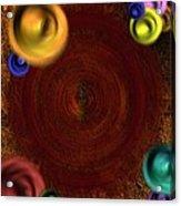 Atomic Haystack Acrylic Print