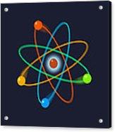 Atomic Structure Acrylic Print