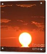 Atomic Sunrise 99 Acrylic Print