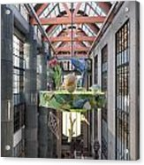 Atrium Of The Central Library In Los Angeles Acrylic Print