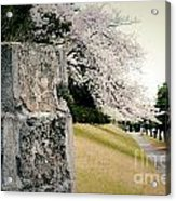 Atsugi Pillbox Walk  B Acrylic Print