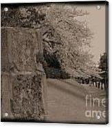 Atsugi Pillbox Walk  C1 Acrylic Print