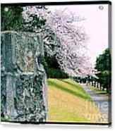 Atsugi Pillbox Walk  I Acrylic Print
