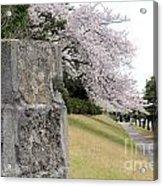 Atsugi Pillbox Walk Acrylic Print