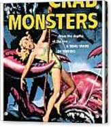 Attack Of The Crab Monster 1957  Acrylic Print