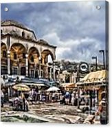 Attiki Metro Station Athens Acrylic Print