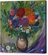 Atumn Flowers Acrylic Print