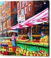 Atwater Market   Acrylic Print