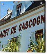 Au Cadet De Gascogne Acrylic Print