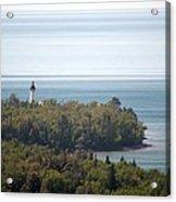 Au Sable Lighthouse Acrylic Print